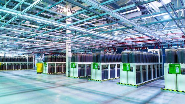 Estação de cabos da Tata no Reino Unido