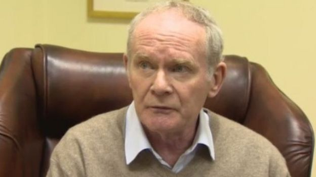 In poor health: Mr McGuinness resigned in January
