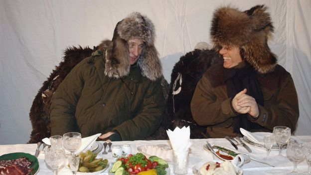 Путін та Берлусконі