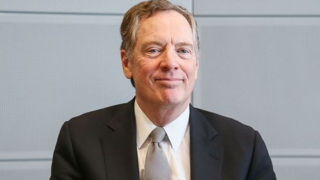 America's top trade negotiator, Robert Lighthizer