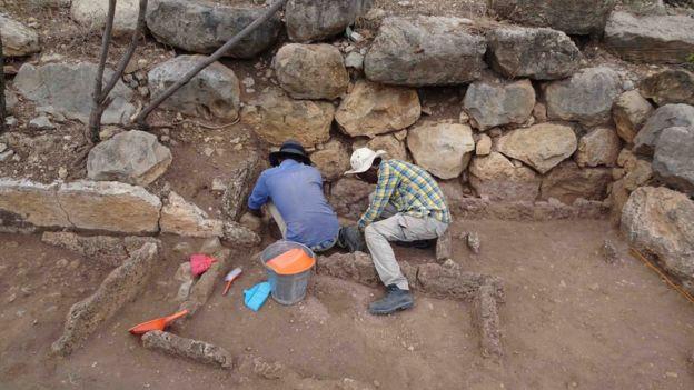 Excavations in Harlaa