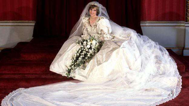Принцеса Уэльская в день своей свадьбы
