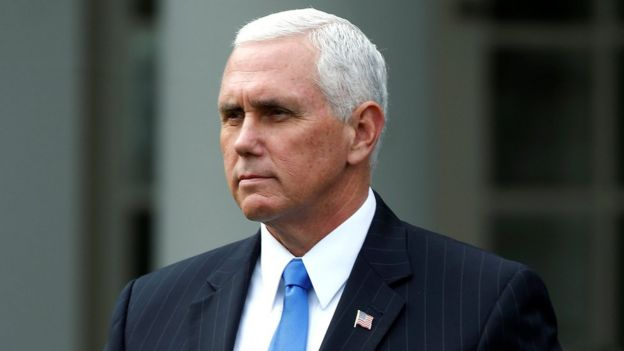 Mike Pence, vice president of the United States
