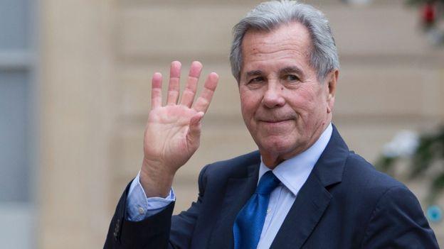 Jean-Louis Debré, ex-ministro do Interior