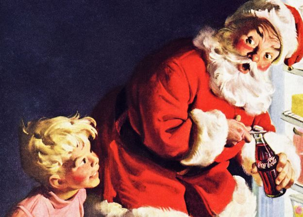 The secret history of black Santas  BBC News