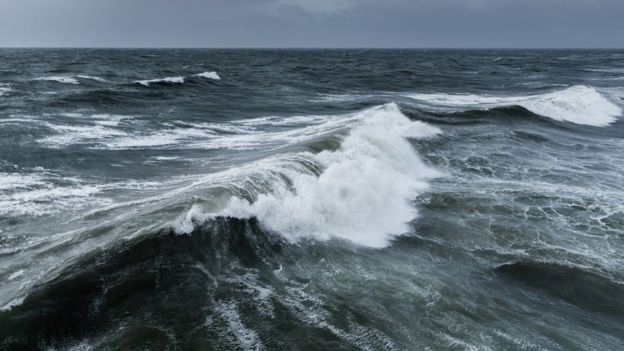 Olas de mar