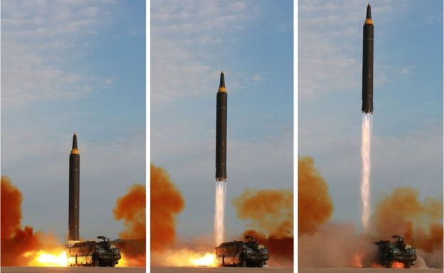 misil norcoreano.