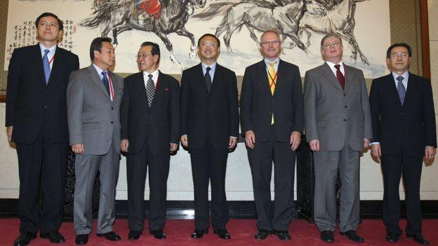 Reunión del Diálogo de los Seis.