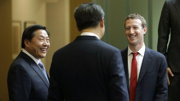 習近平會晤Facebook總裁扎克伯格