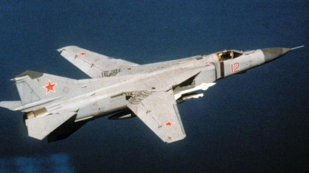 Un MiG-23