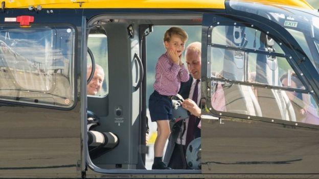 Prince George helikopterle