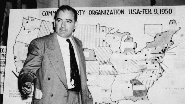 Сенатор Джозеф Маккарти (1950 год)