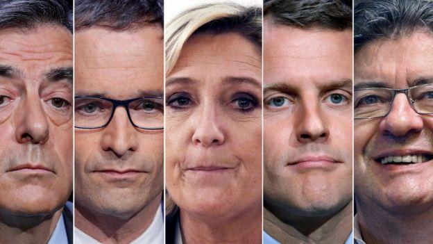 مرشحو الانتخابات الفرنسية