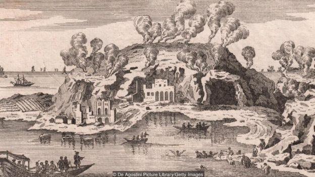 Những nguồn nước khoáng và khí hậu ôn hòa khiến Baia trở nên địa chỉ ưa thích của giới thượng lưu thành Rome