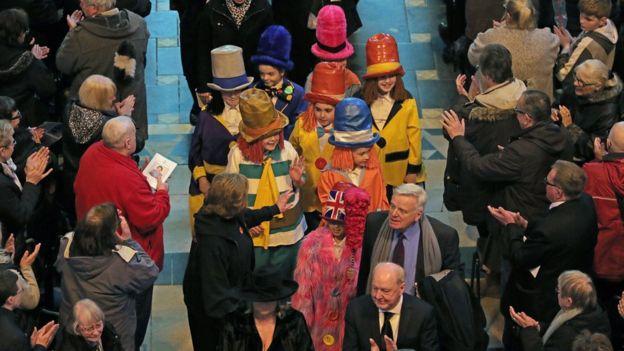 Diddymen at Sir Ken Dodd's funeral