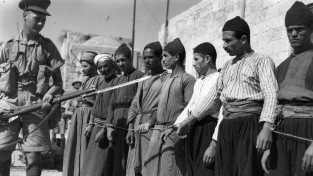 At the fall of the Ottoman Empire, the United Kingdom was in charge of administering the territory of Palestine.