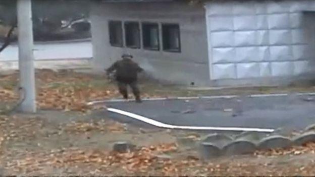 سرباز کره شمالی وارد منطقه تحت کنترل کره جنوبی شد اما سریعا برگشت