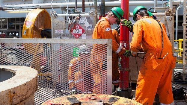 BP's Thunder Horse oil platform