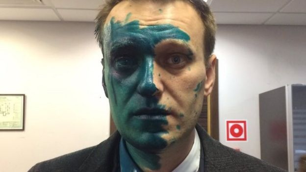 Photo of Navalny