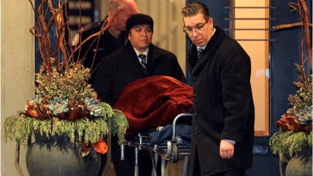 Uno de los cuerpos hallados en la casa de Barry Sherman.