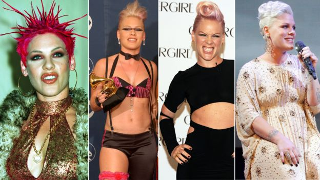 Pink's style