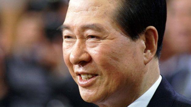 韓國前總統金大中。