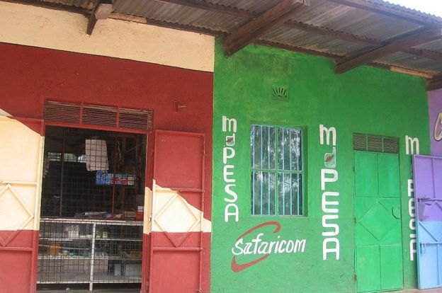 Store with M-Pesa signal