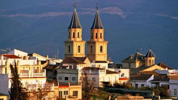Orgiva, İspanya