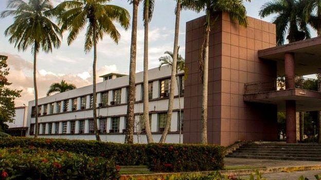 Aulas de la Universidad Central de las Villas