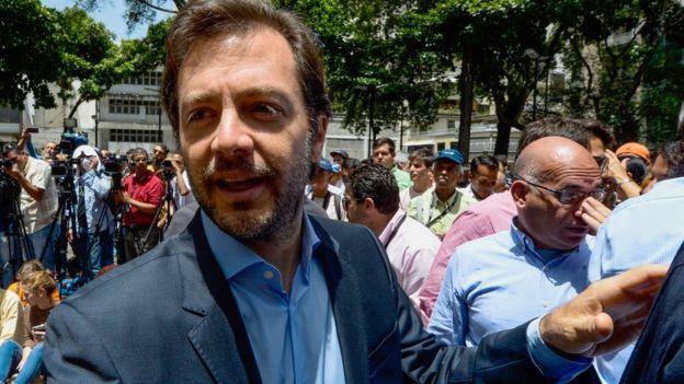 Ramón Muchacho, alcalde de Chacao