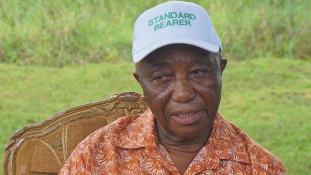 Liberian Vice-President Joseph Boakai