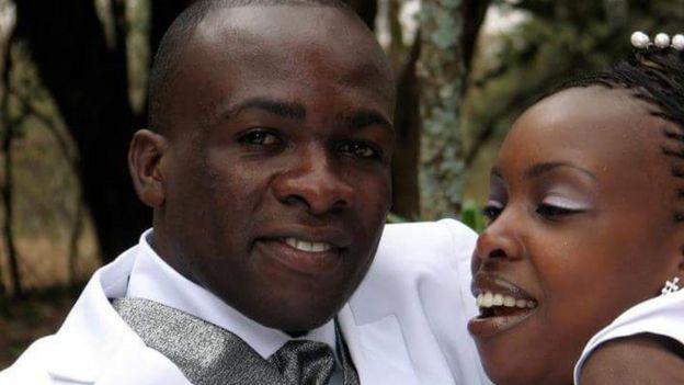 Malaki Samson and his wife Naomi Wangui