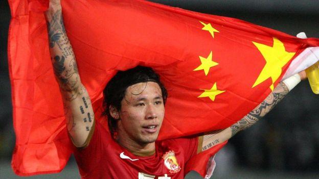 中國足球運動員張琳芃