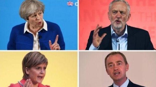 Líderes de partidos