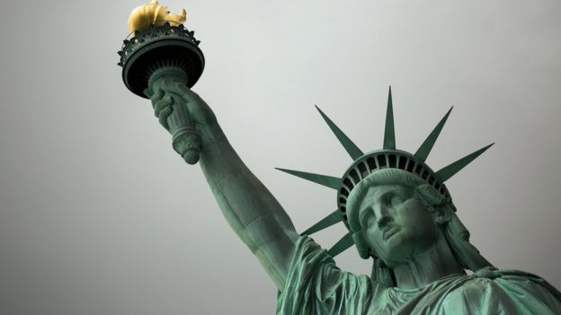 The Statue of Liberty, 8 Aug 17