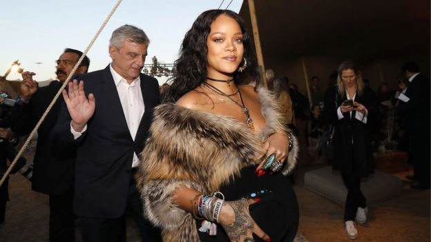 Rihanna in May 2017
