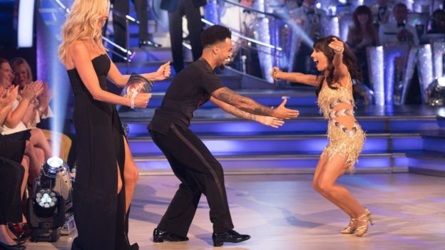 Aston Merrygold and Janette Manrara