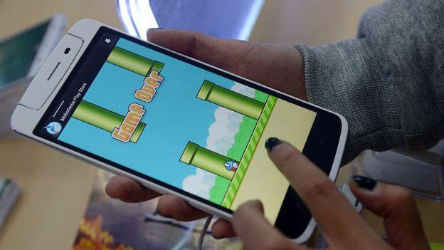 Flappy Birds, videojuego.