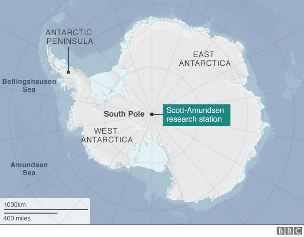 South Pole Plane Leaves After Antarctica Rescue Mission BBC News - Antarctic research stations map