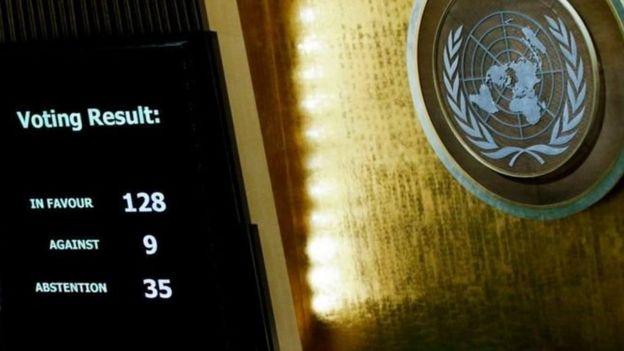 Голосование в ООН