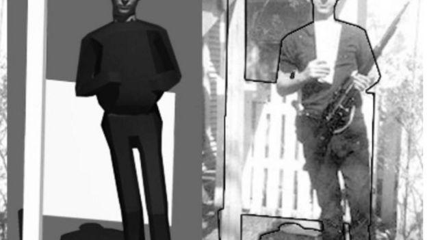 Análisis de la foto de Lee Harvey Oswald utilizada como evidencia en el juicio por el asesinato de John F. Kennedy