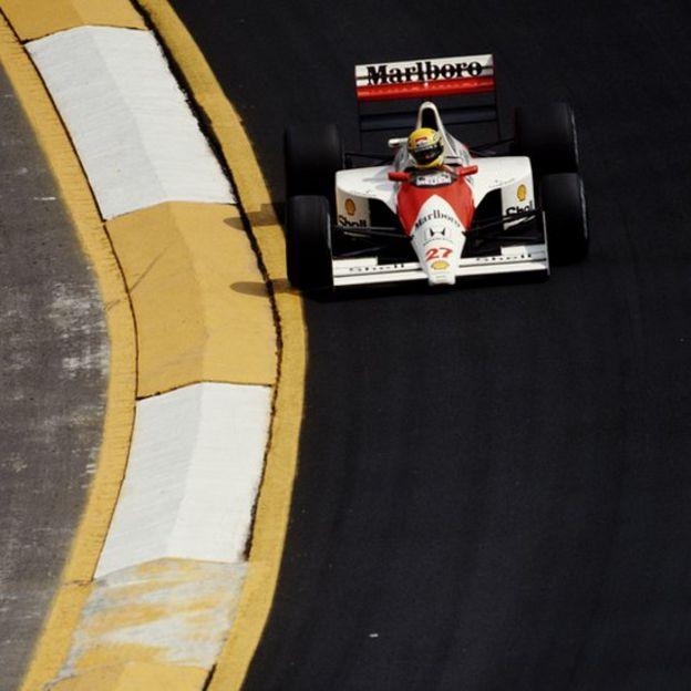 Ayrton Senna en 1990