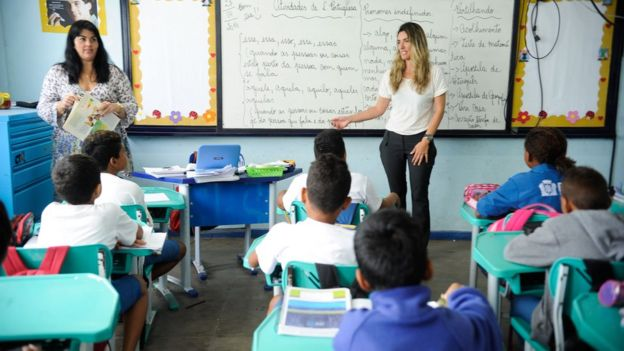 Escola pública no Brasil