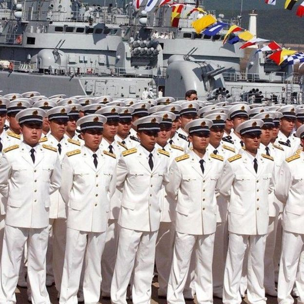 Trung Quốc quyết tâm tăng cường hải quân