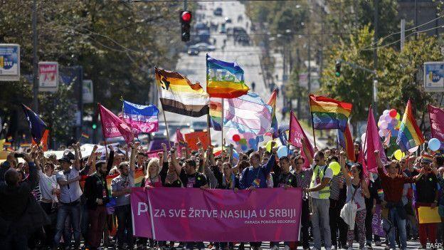 Гей-парад в Сербии