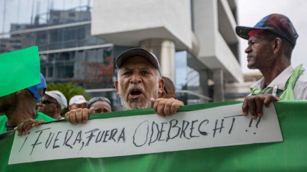 Protestas contra Odebrecht