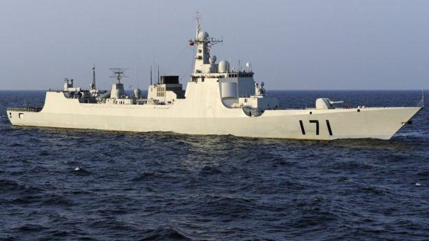 Tàu chiến Trung Quốc