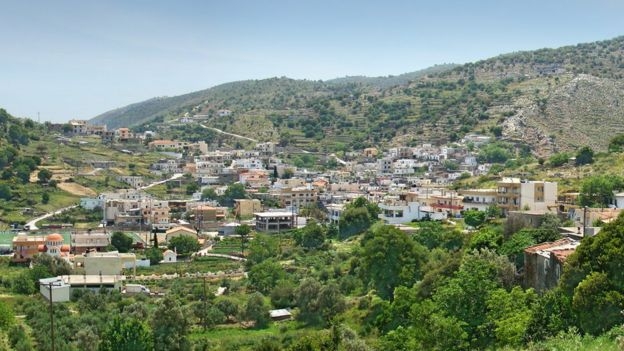 The Cretan village of Zoniana