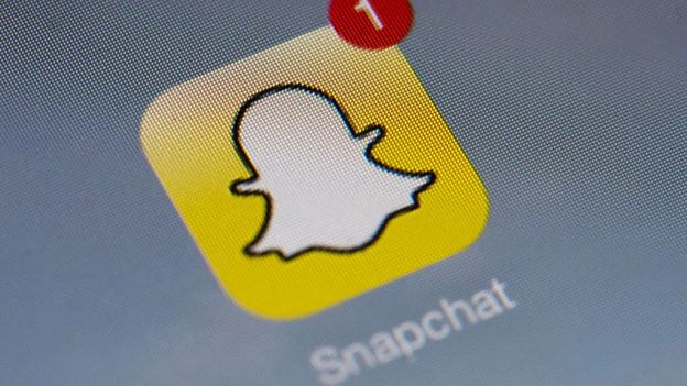 Imagem mostra o ícone do Snapchat