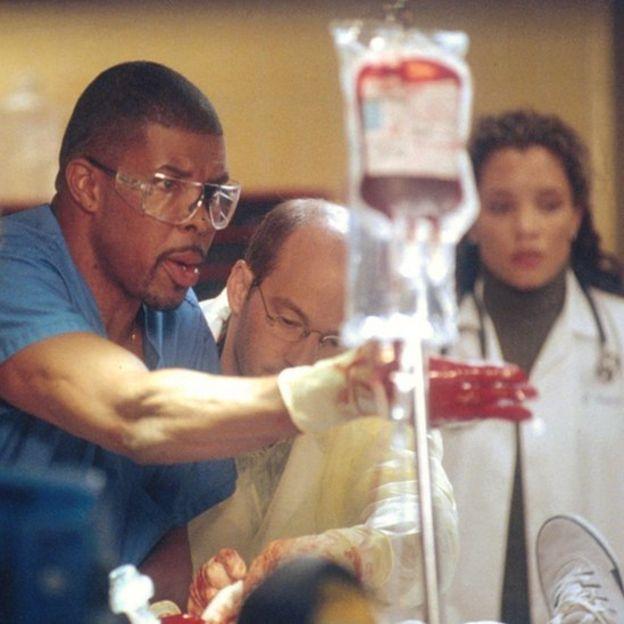 Médicos de la serie